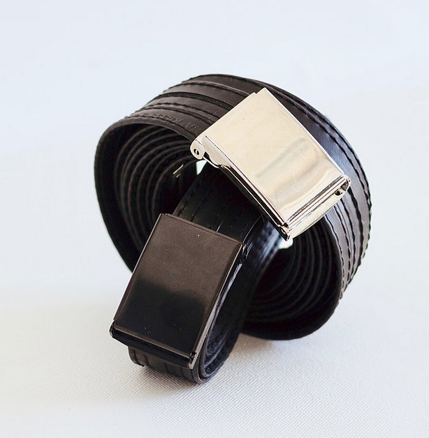 Bicycle Trash - Waste Belt - Made from a bicycle innertube, this belt is a guaranteed staple for any guy's closet.