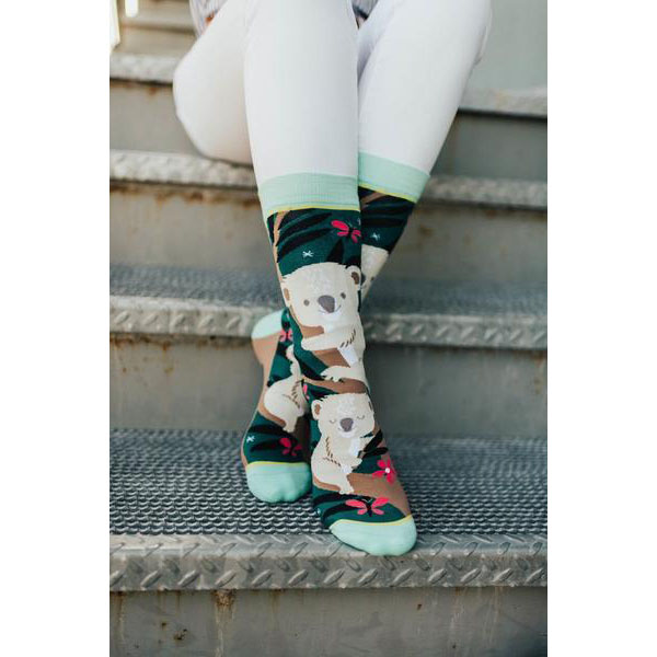 Woven Pear  - Funky printed socks to give your feet personality!