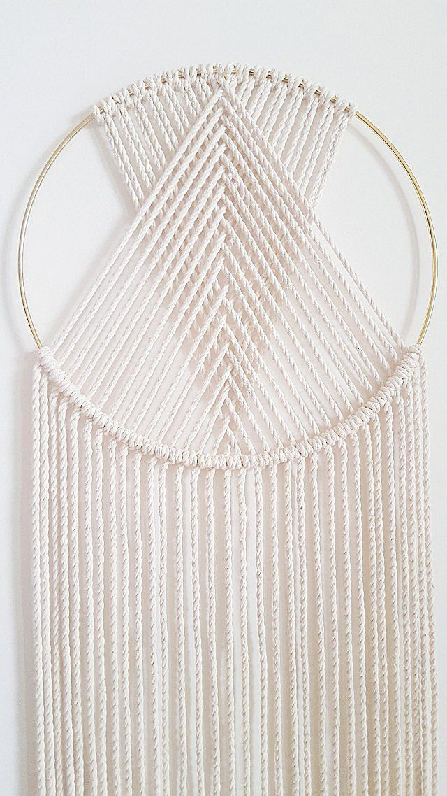 Dream Catcher Macramé by Jungle and Loom