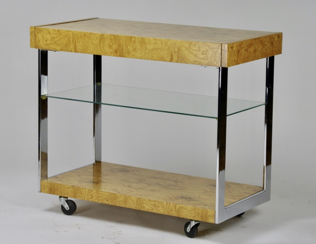 Bar cart by Milo Baughman for Lane - SOLD