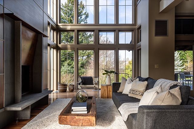 Truly one-of-a-kind, our new listing on Marine View Drive in West Seattle balances bold contemporary design elements with organic materials such as copper, rusted steel, stone and wood. See #linkinbio for more.
