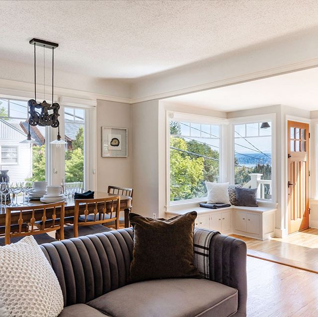 New Listing: Delightful hillside bungalow featuring expansive water and mountain views perfectly positioned to take advantage of the best that Madrona, Leschi and Lake Washington have to offer. See #linkinbio for more.