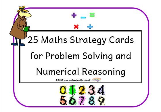 Problem Solving and Reasoning Resources