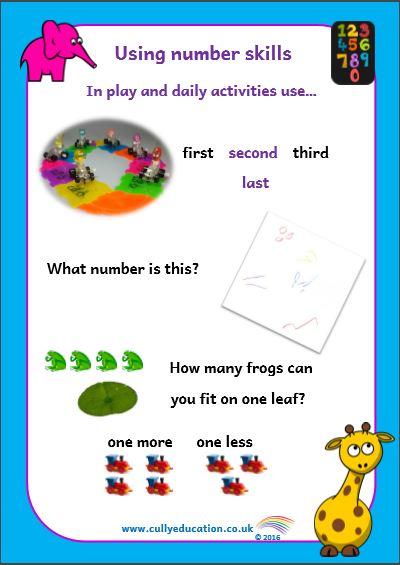 Numeracy Vocabulary Cards