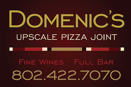 Domenic's Upscale Pizza Joint - VT
