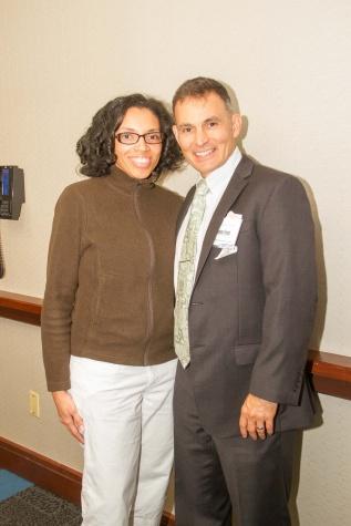 Dr. Bethea  and  Dr. Benjamin Gonzalez (HER mentor) , Medical Director of Atlantis Medical Wellness CenteR
