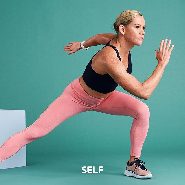 the @selfmagazine latest challenge starts in just a few weeks! and it stars the totally inspiring and badass  three-time Ironman Triathlon world champion, @mirindacarfrae! 💪 there are 20 new strength and cardio workouts (created by me!) and you only need dumbbells to do it. link in bio to sign up! 💥 📷: @nadyawasylko