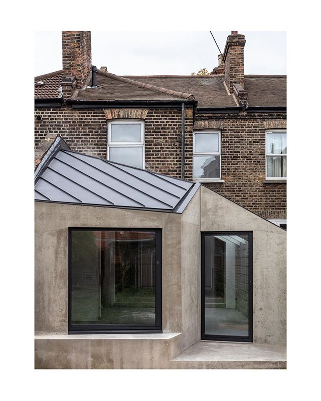 Documenting the stages of construction on our extension and renovation project in east London. After - before - in progress. The form of the new is dictated by existing massing on the site and neighbouring heights at the boundary. _ _ _ _ _ #architecture #architecturelovers #interiordesign #architekt #interior #architect #designgoals #concrete  #housedesign #luxury #architecturephotography #photooftheday #dreamhome #interiordesigner #sculptural #modernhouse #beforeafter #minimalism #concretedesign #simple #interiors #instaarchitecture #architexture #decor #minimal #simplicity #minimalist #london #concreto #residentialarchitecture