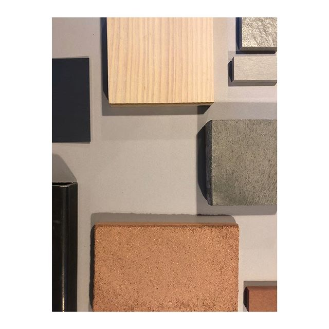 Material palette for exciting new project in north London; clay, concrete, metal and timber . . . . . #architecture #architecturelovers #interiordesign #architectureporn #interior #architect #londondesign #architexture #housedesign #luxury #architecturephotography #londonarchitecture #minimalist  #interiordesigner #renovationproject #modernhouse #palette #minimalism #concretedesign #simple #material #timberfloors #home #minimal #renovation #minimalist #homedesign #concrete #residentialarchitecture