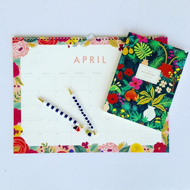 Plan out your spring [cleaning] with these @riflepaperco essentials! • • • #graphicdesign  #riflepaperco  #paper  #spring  #easterbasket  #easter