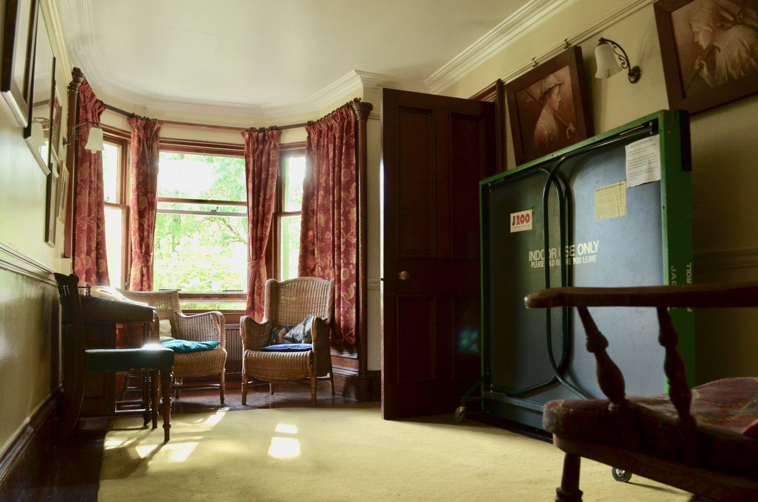Telephone/Table Tennis Room