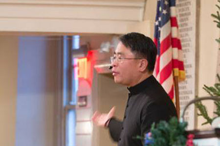 Reverend Mark I. Salvacion - Pastor Mark Welcomes All