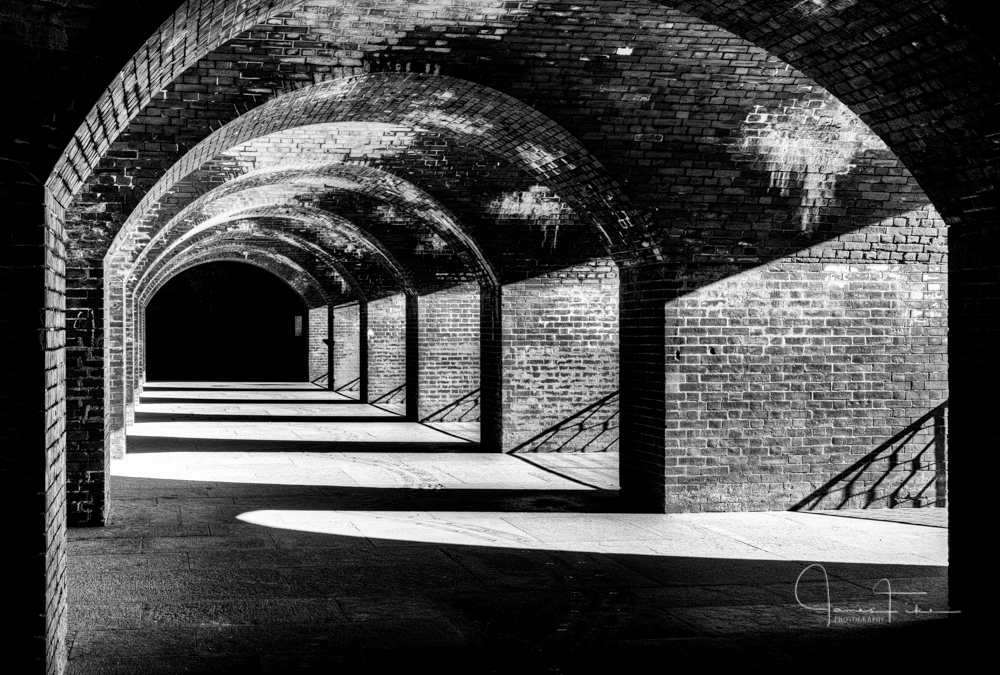 Fort Point National Historic site, San Francisco California. Taken December 2013 by James Fike Photography.