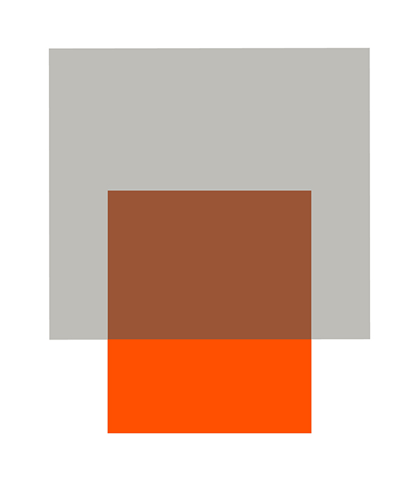 THE INTERACTION OF GRAY AND ORANGE
