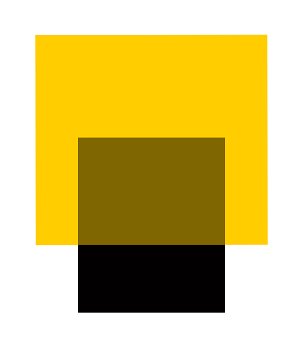 THE INTERACTION OF YELLOW AND BLACK