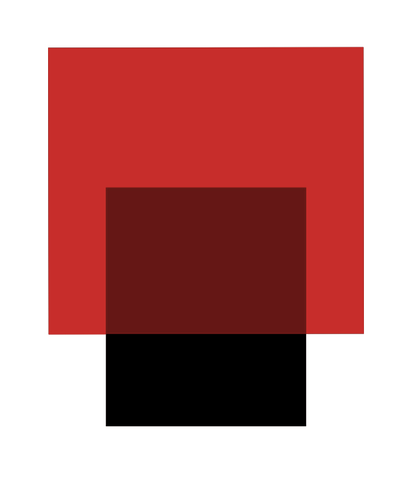 THE INTERACTION OF RED AND BLACK