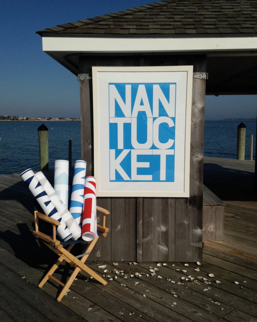 Nantucket Graphic Prints