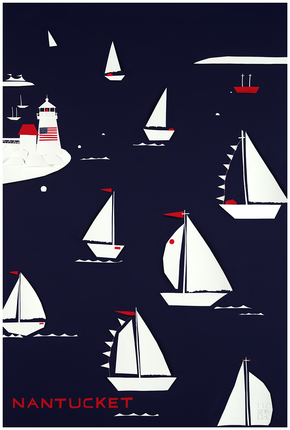 Nantucket Regatta Print