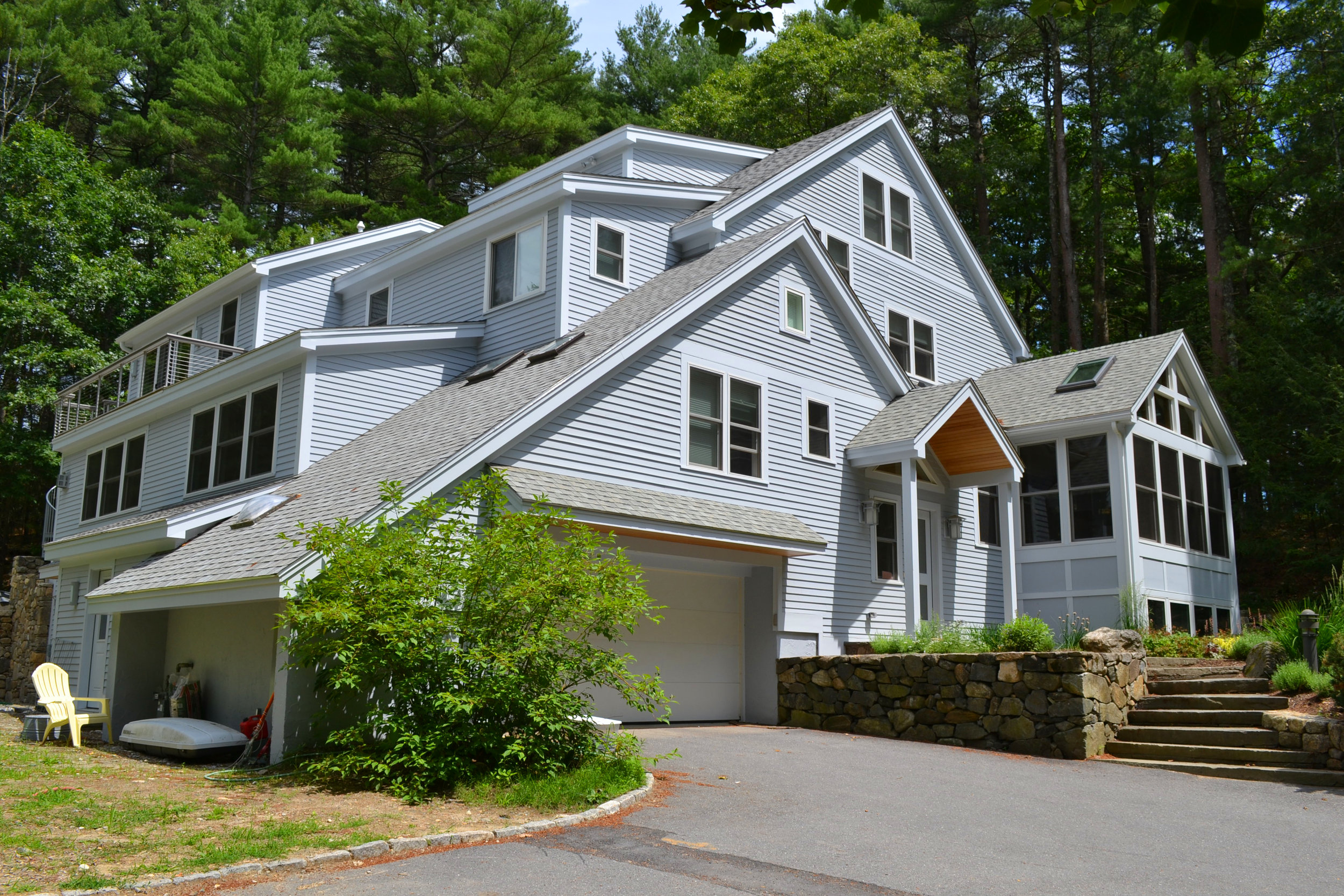 Contemporary Home Addition and Renovation | Dickinson Architects, LLC | Concord, MA