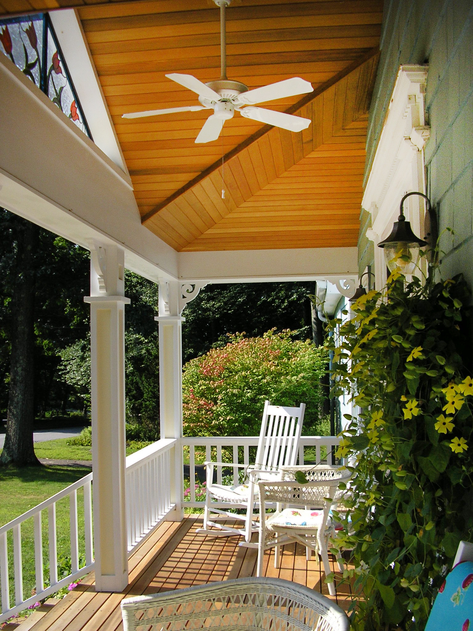 Home Renovation  | Dickinson Architects, LLC | Front Porch Addition Curb Appeal