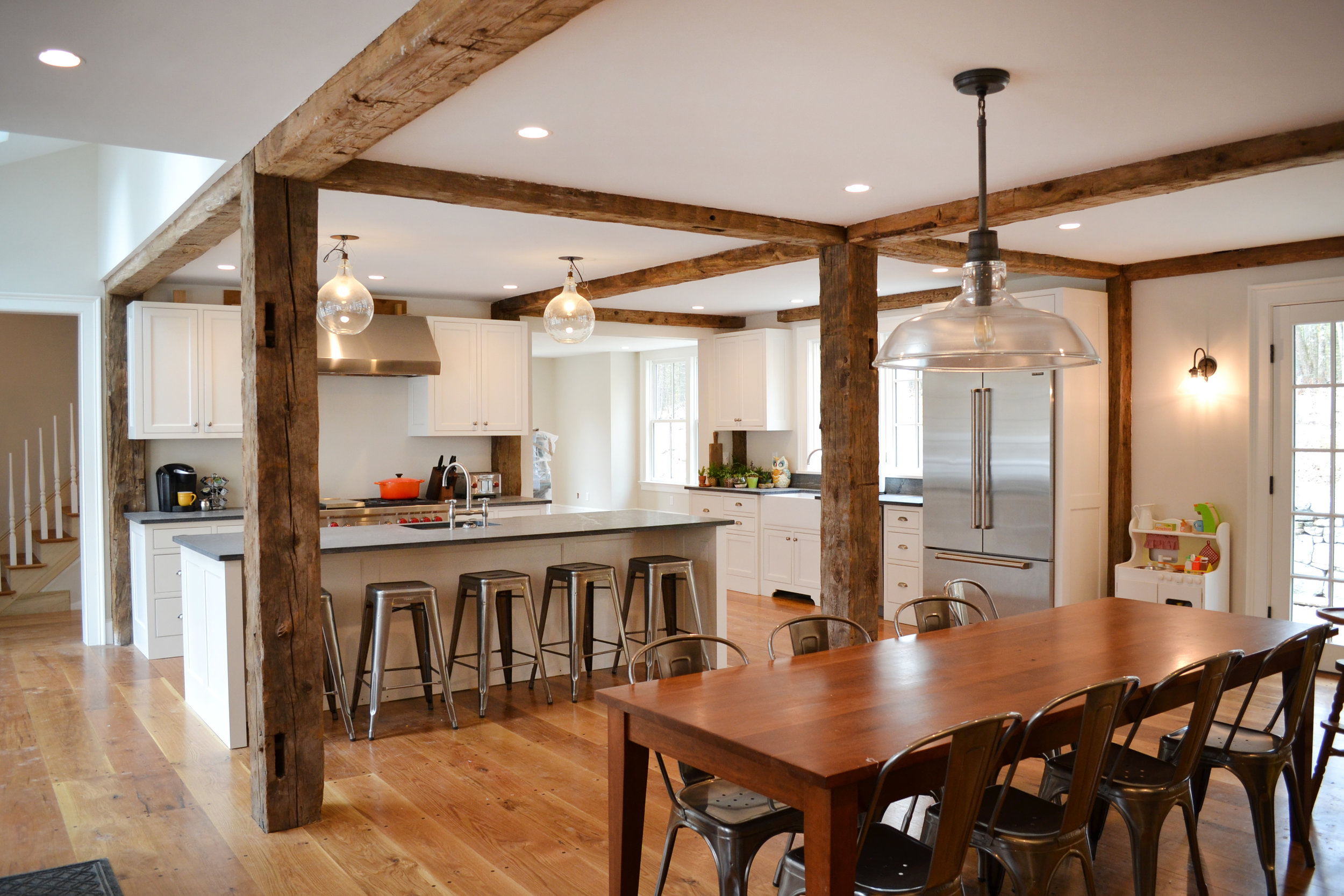 Historic Farm House | Dickinson Architects, LLC | Acton, MA