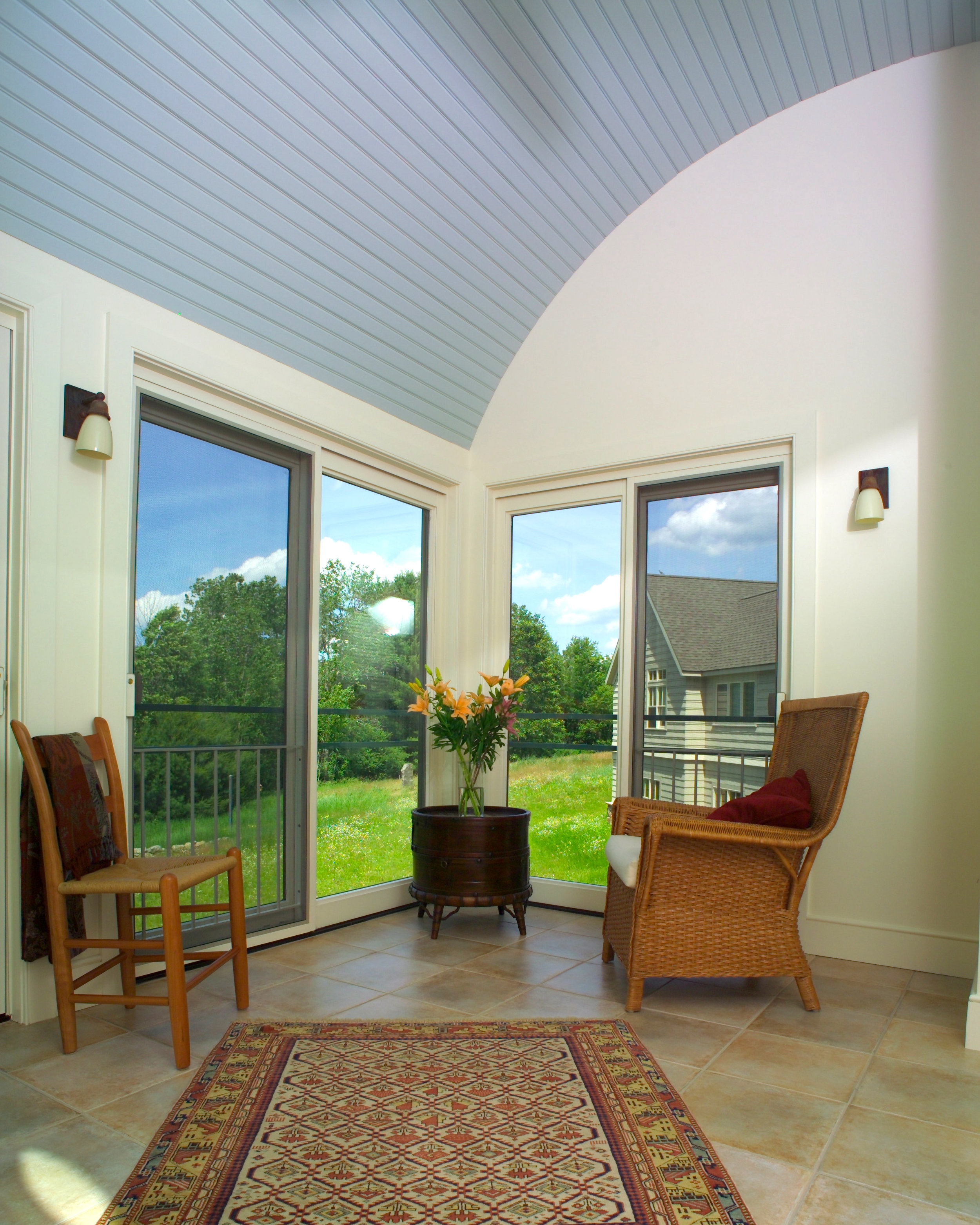 New Home Construction | Dickinson Architects, LLC | Covered Porch