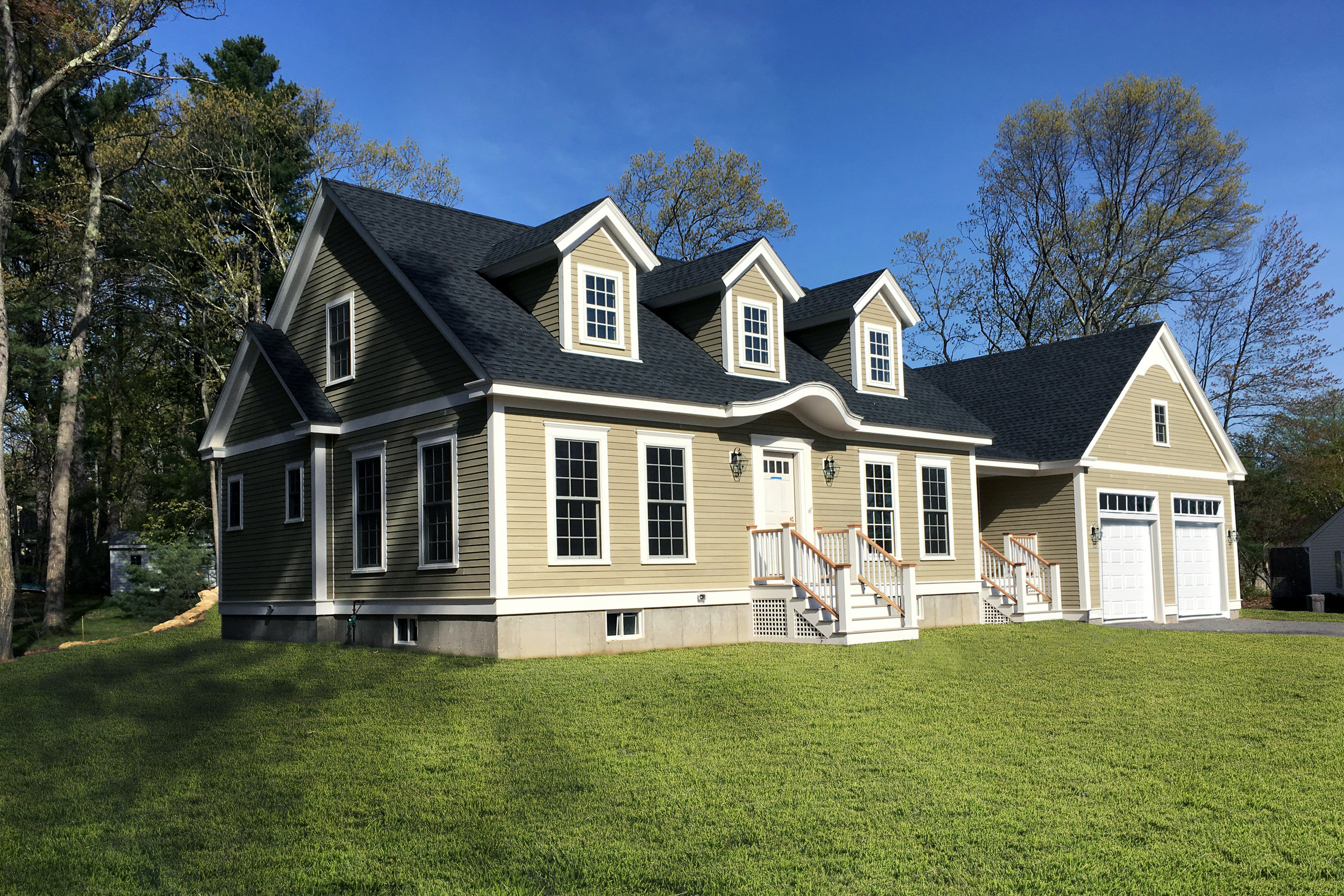 Cape Style New Home | Dickinson Architects, LLC | Acton, MA
