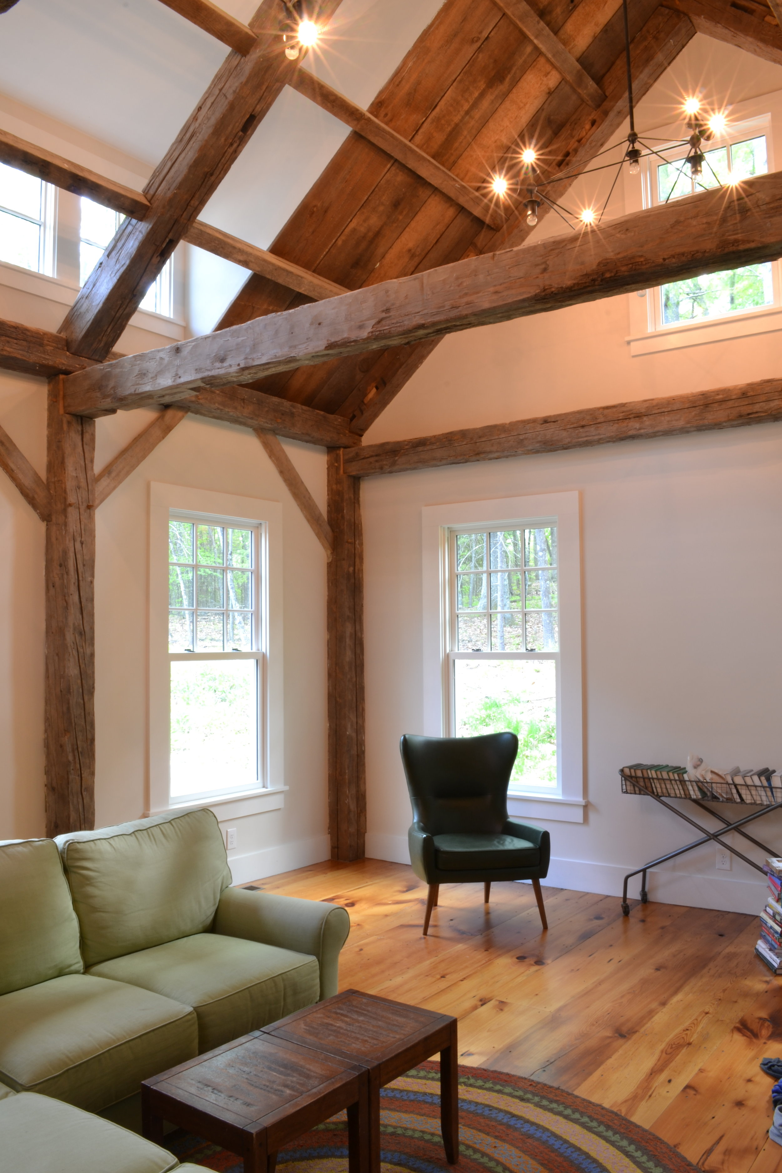 Historic Farm House Salvaged Barn Wood | Dickinson Architects, LLC | Acton, MA