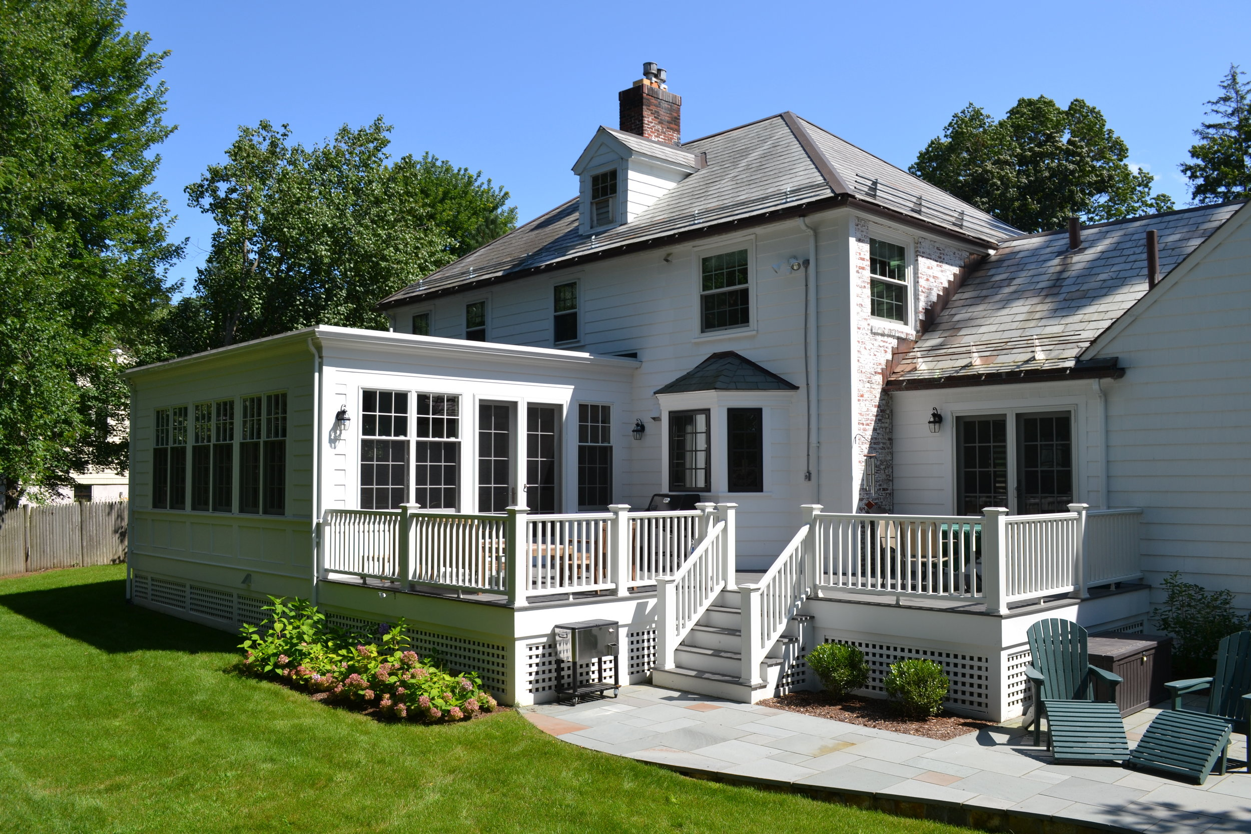 Colonial Home Construction | Dickinson Architects, LLC | Belmont, MA