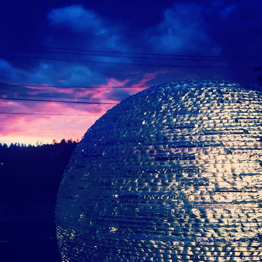 Stormy sunset in the Berkshires! Photo: Atelier Berkshires.