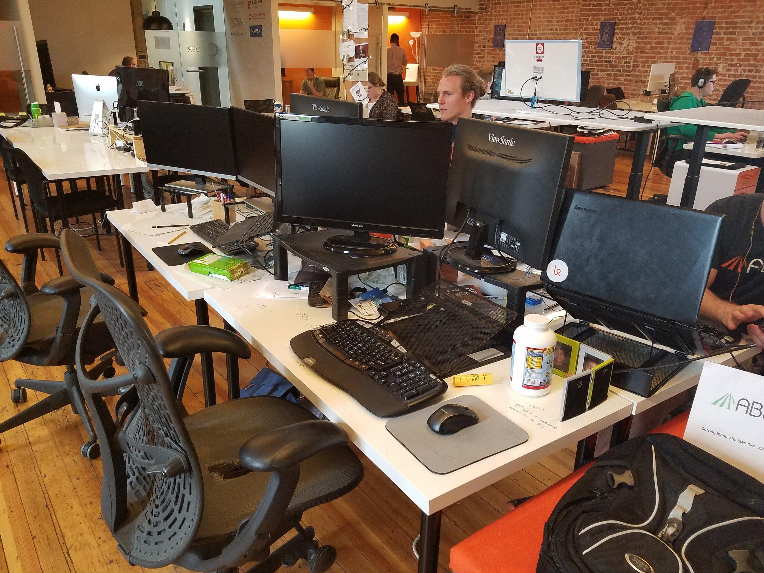 The Able.ag desk pod.