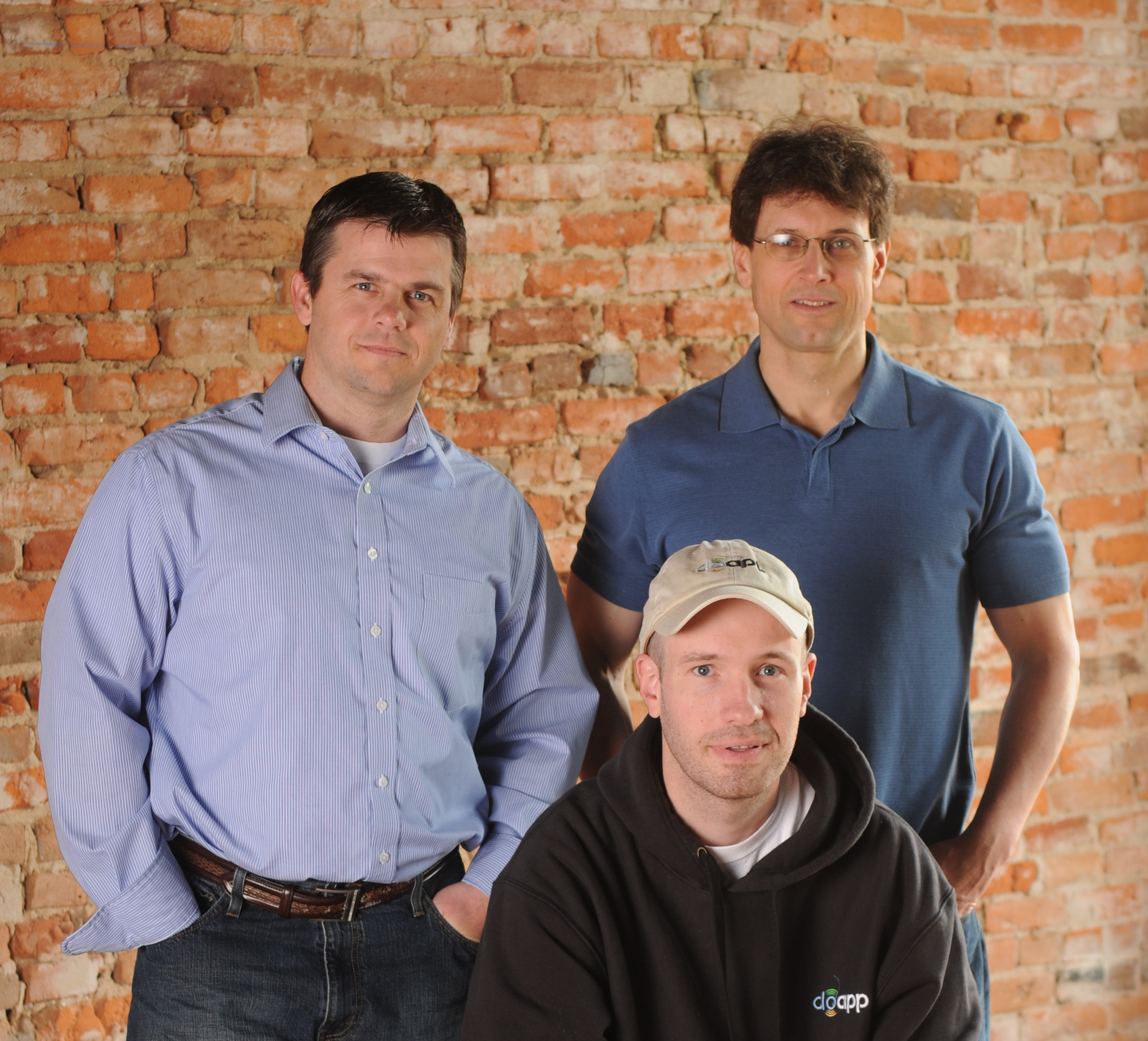 DoApp Founders (from left to right): Wade Beavers, Joe Sriver, and David Borrillo. Photo courtesy of DoApp.
