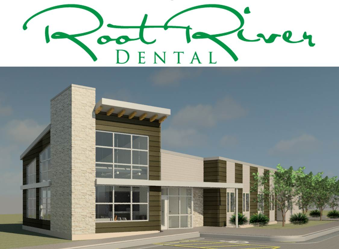 Rendering of Root River Dental facility.