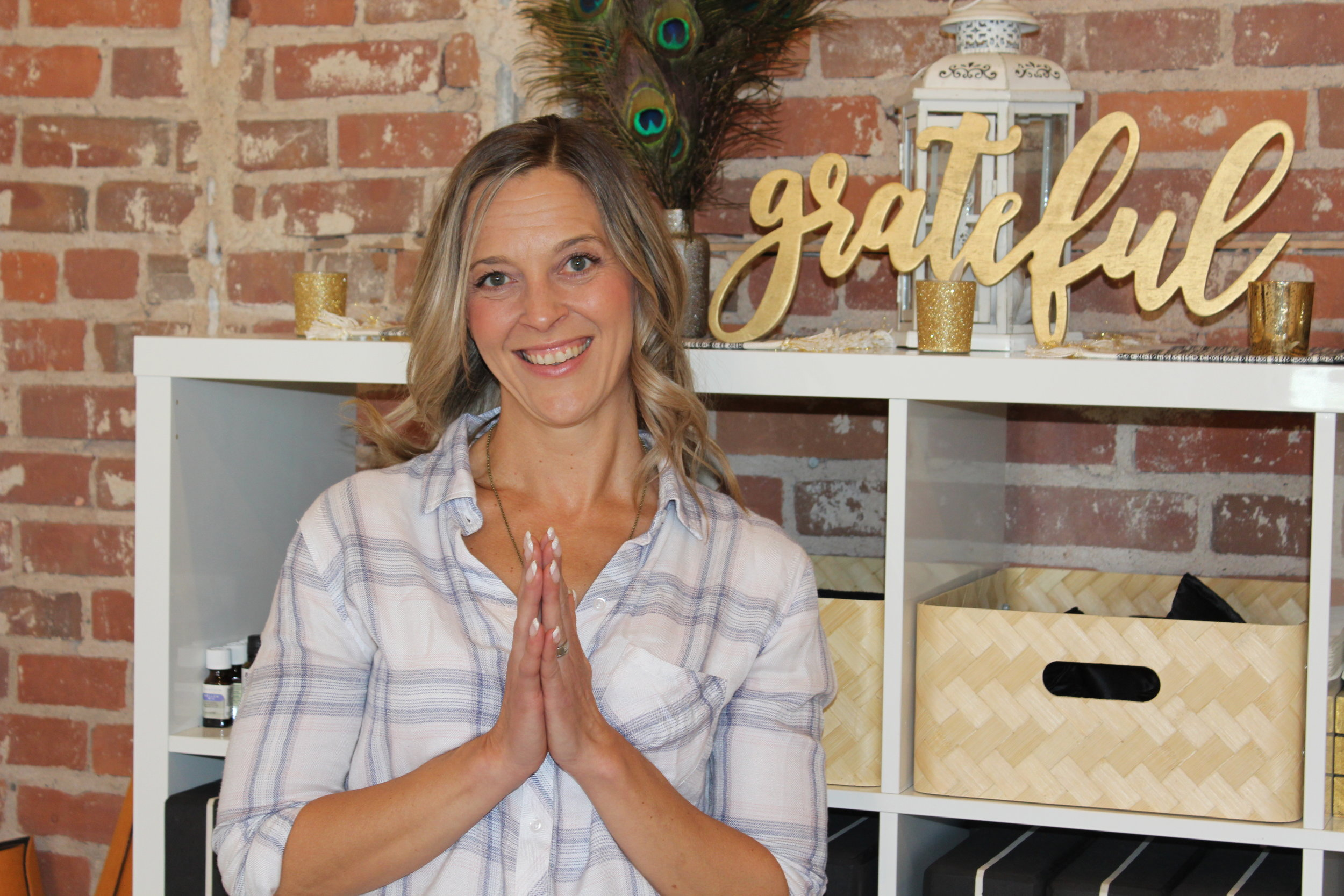 ee260dfda9860 Three years after launching her entrepreneurial vision, innovator Heather  Ritenour-Sampson has found a new home for her business, Yoga Tribe. After  growing ...