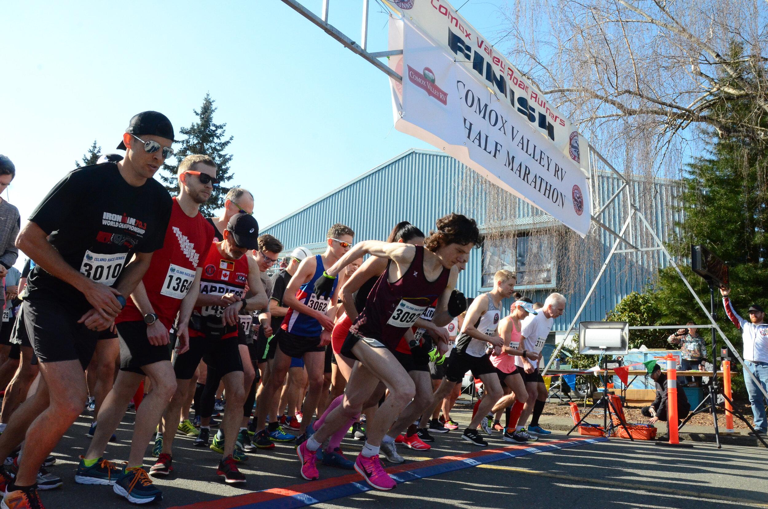 Comox Valley RV Half Marathon