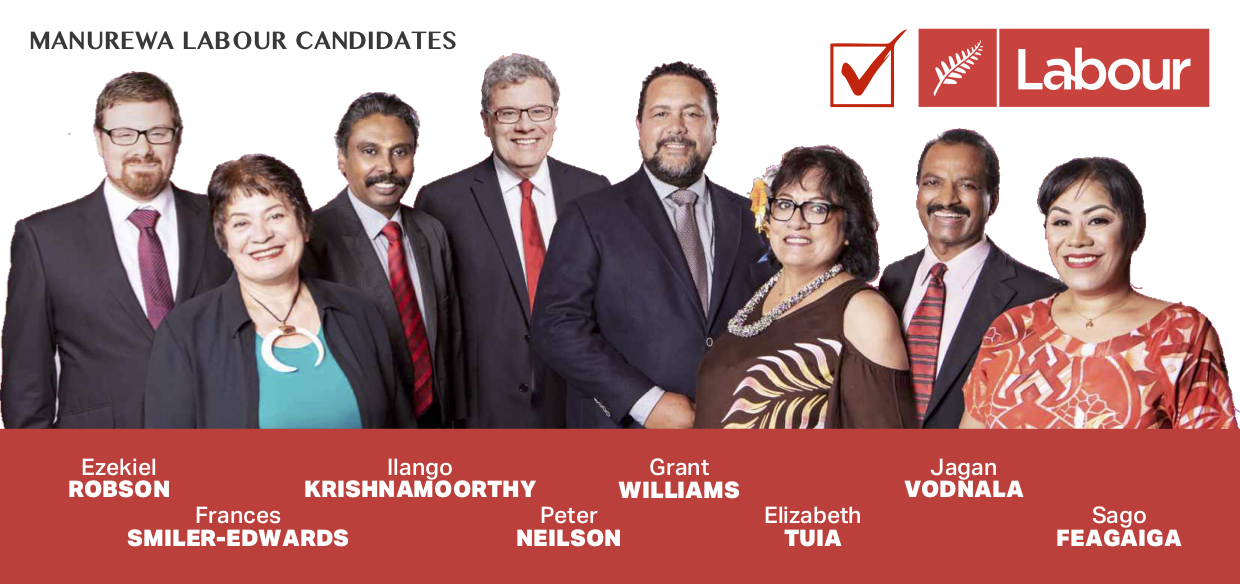Your candidates for Manurewa