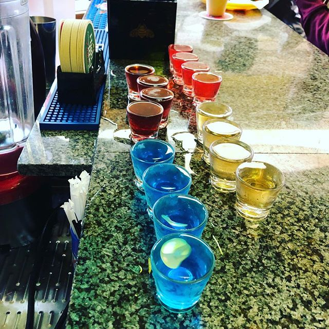 It's shot season! #springbreak2019 4 shots for $10 or 10 shots for $20!!