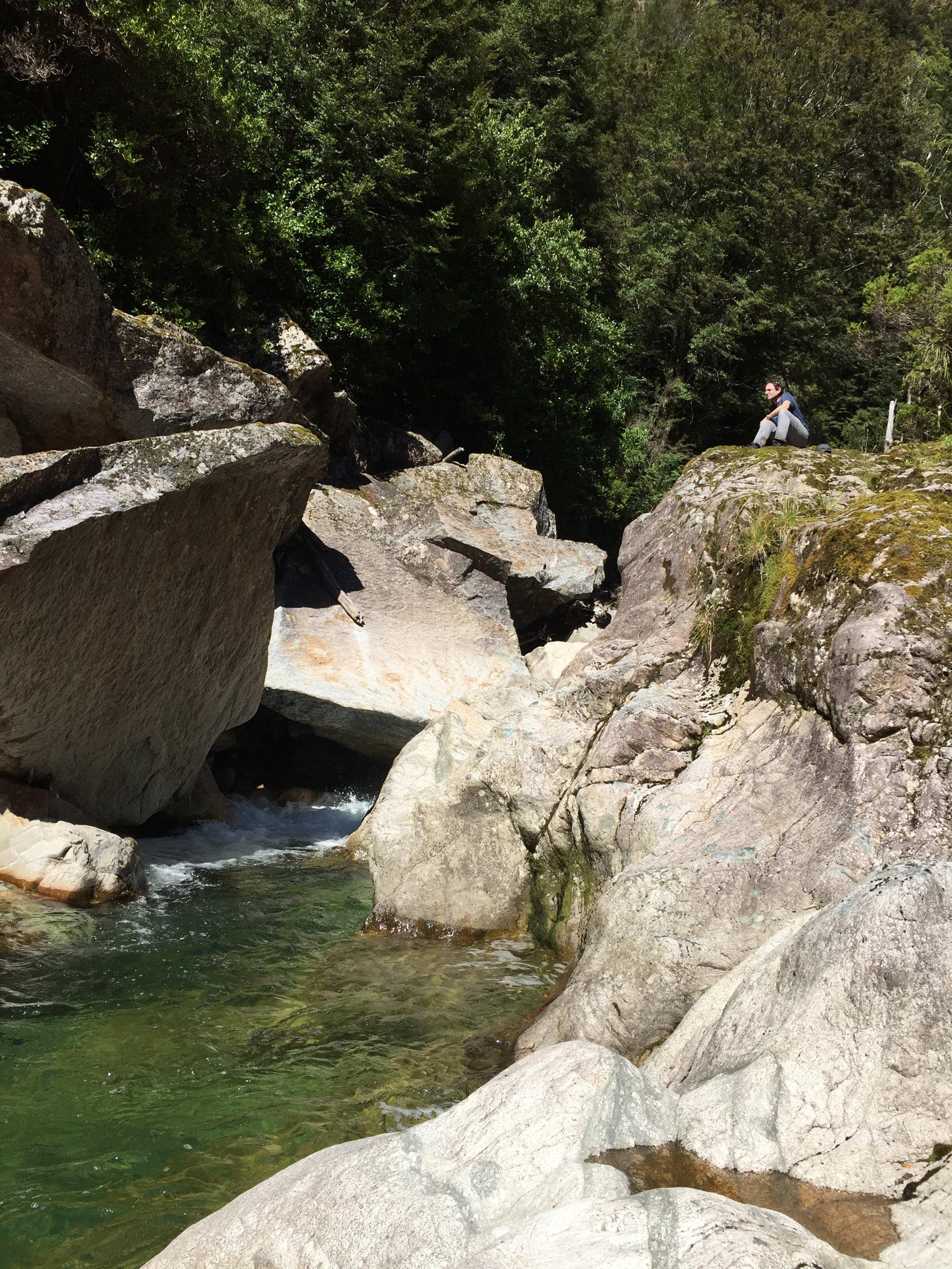 Below the Saxon Falls that we never saw