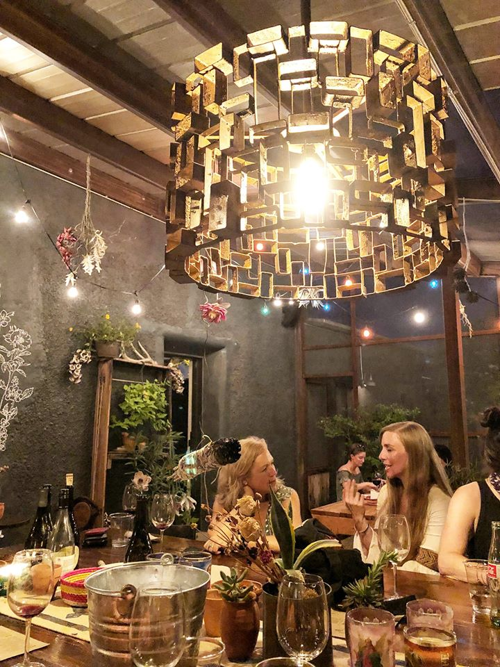 Dinner at Al Campo Restaurant during our 2018 Marfa Retreat. Photo by Amy Johnson