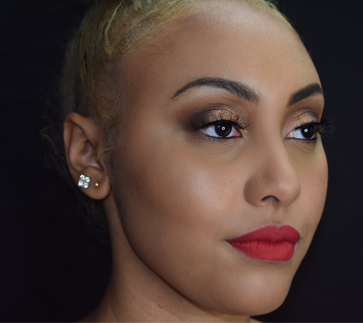Photo Cred: George Photography   Lashes worn by the models shop www.marisaminks.bigcartel.com   Makeup done by me ladies wearing Vibrant Matte Lipsticks click on LeMae' Cosmetics