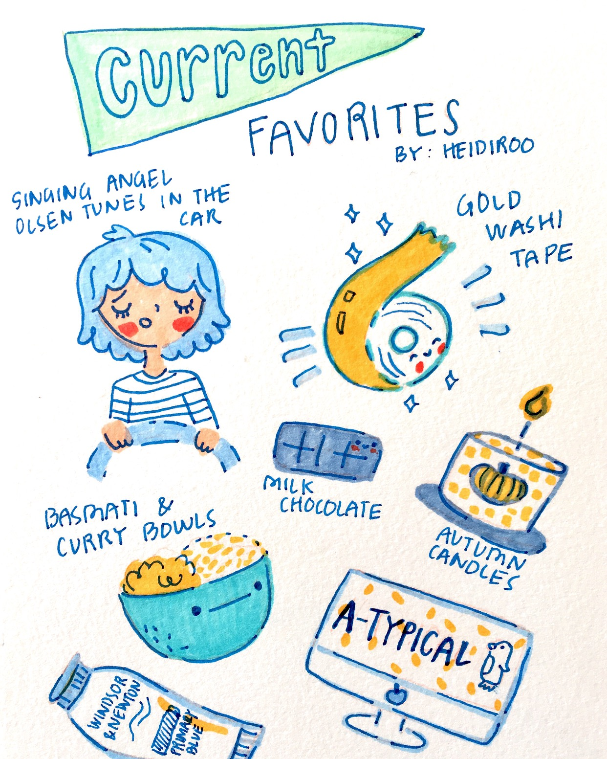 Current Favorites September 2017