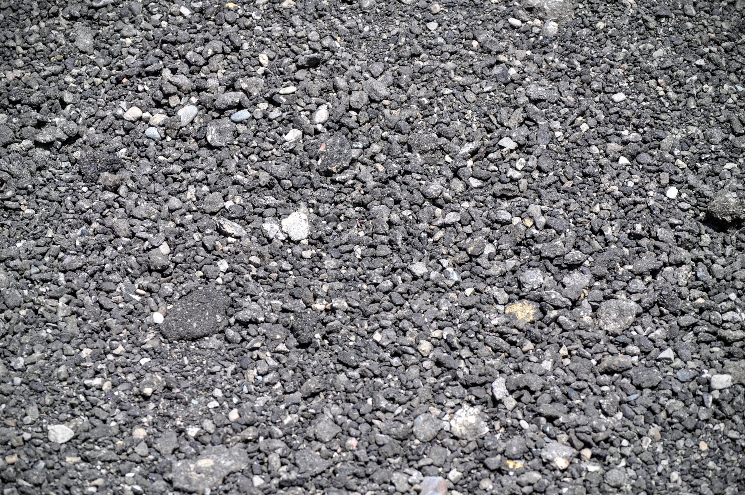 Asphalt Millings  Ground up and recycled asphalt - often used in place of gravel for driveways and other projects.