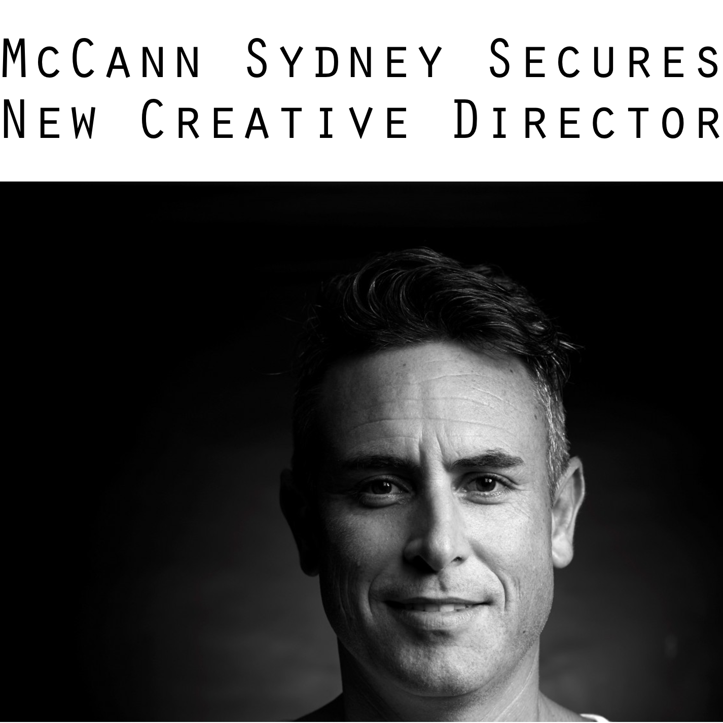 B&T   McCann Sydney Secures New Creative Director