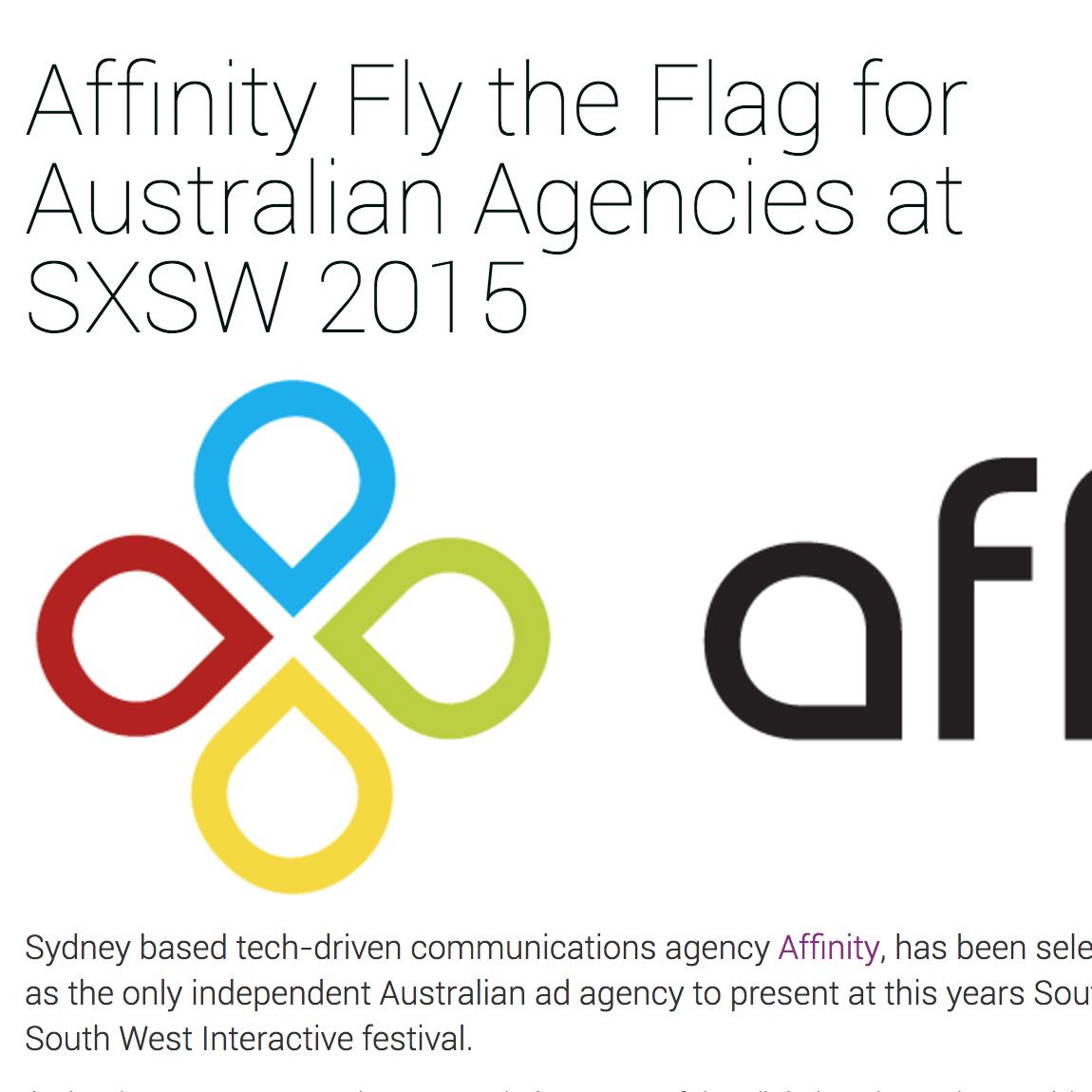 AIMIA  Affinity Fly the Flag for Australian Agencies at SXSW 2015