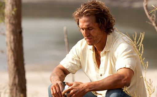 """Matthew McConaughey stars in the mystery-drama """"Mud,"""" in theaters April 25."""