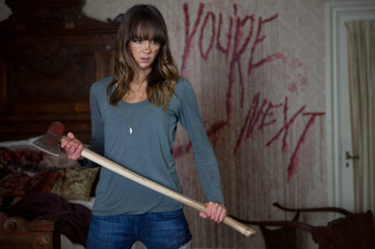 """""""You're Next"""" (Photo courtesy of Lionsgate, used with permission)"""