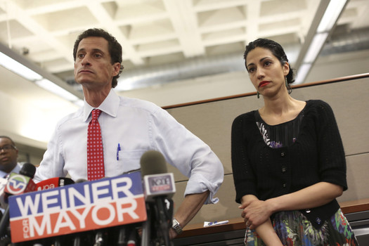 Weiner' opens in theaters nationwide June 3. (Photo courtesy of IFC Films, used with permission.)