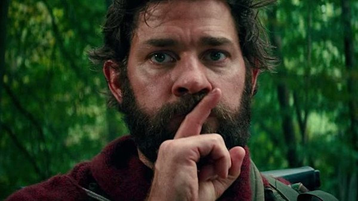 """Director John Krasinki stars in """"A Quiet Place"""" (Image courtesy of Paramount Pictures)"""