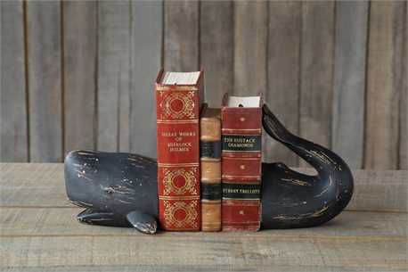 Cool whale bookends only $1000 (kidding)