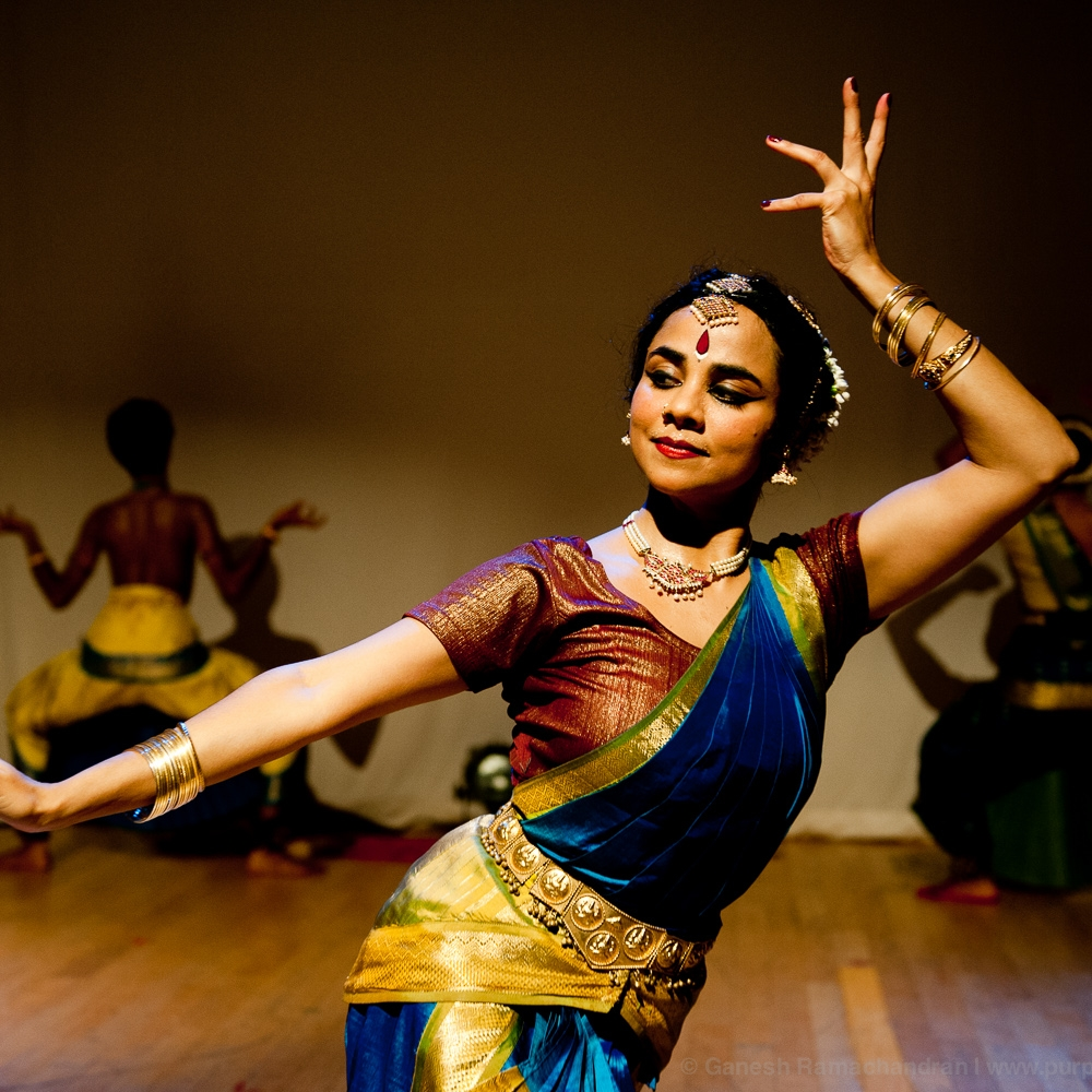 Mailini Srinivasan   Malini Srinivasan is a third-generation Bharatanatyam artist and the disciple of world-renowned artist Sri C.V. Chandrasekhar. A critically-acclaimed soloist and a choreographer, Malini has presented solo Bharatanatyam to various audiences in the U.S., India and Europe.